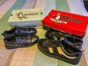 MENS and LADIES OLSON CURLING SHOES