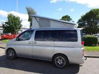 Nissan Elgrand 2 Berth Campervan
