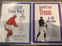 Consistent Tennis Wins / Improve Your Tennis DVD's