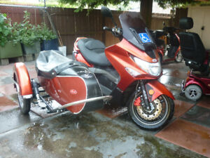 kymco with side car