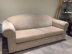 SOLD // Pull-Out Simmons Sofa with Mattress
