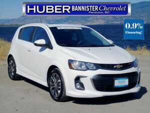 2017 Chevrolet Sonic Turbo/Sunroof/Heated Seats