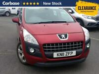 2011 PEUGEOT 3008 1.6 HDi 112 Sport 5dr SUV 5 Seats