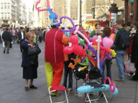Face painters and balloon twisting in Calgary  PartySpecialists