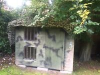 Play Shed - Army Den