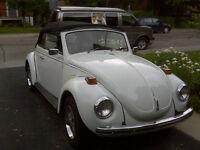 Super Beetle 71 décapotable