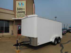 2018 TNT 7x16ft Enclosed Trailer Ex/Height/Ramp $8599