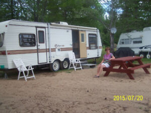 Furnished House Trailer Rental by the night at Round Lake