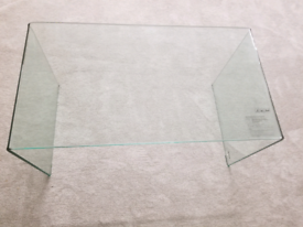 Brand New, Unused, Large Rectangle Glass Coffee Table