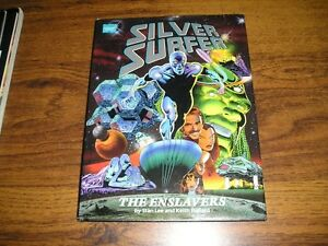 "1990 MARVEL GRAPHIC NOVEL SILVER SURFER ""ENSLAVERS"""