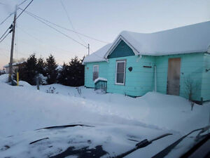 2 bedroom bungalow located in a small town