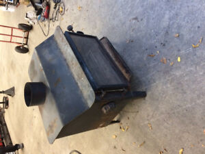 WOOD STOVE IN GOOD SHAPE WITH ID TAGS