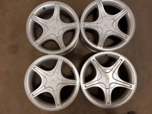 4 MAGS DE FORD MUSTANG  17'' 5 X 114,3 IMPECCABLE