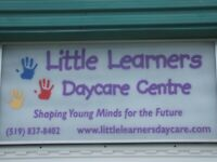 15 months - 5 years Licensed childcare