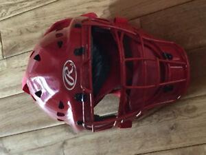 Rawlings coolflow catchers mask for baseball youth