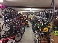 Bikes/ bicycles / berg / gokarts