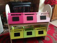 Verdbaudet Children's Storage Box Unit