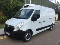 2012 Vauxhall Movano 2.5 CDTI 3500 High Roof Refrigerated Van 3dr LWB Manual Tem