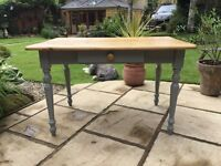 Pine Kitchen / Dining Table ....with drawer