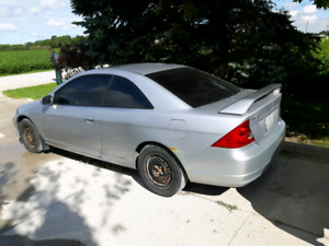 2002 Honda civic coupe 1.7L