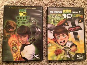 Ben 10 DVD's