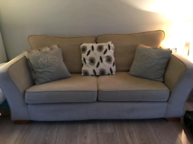 2 Seater couch beige from Marks and Spencer
