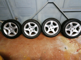 "Peugeot cyclone alloys wheels x4 15"" (4x108)"