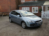 2006 FORD FOCUS 1.8 TDCI (115ps) GHIA - FULL SERVICE HISTORY - MOT MARCH 2018 -