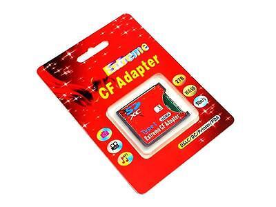 SD SDHC SDXC Kartenadapter auf CompactFlash CF Compact Flash bis 64 Gb TypII