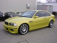 2003 BMW M3 SMG Coupe - Phoenix Yellow - EXTREMELY LOW KM!!!!!!!