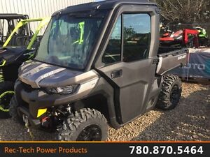 2017 Can-Am Defender CAB XT Heavy duty side by side