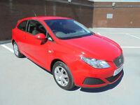 (10) 2010 Seat Ibiza 1.4TDI SportCoupe Ecomotive TAX FREE CLASS F/S/HISTORY