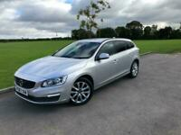 2017 67 VOLVO 2.0 V60 D4 BUSINESS EDITION LUX 5DR *SAT NAV, LEATHER, PRIVACY*