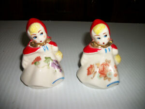 Vintage Hull Little Red Riding Hood salt pepper shakers Regina Regina Area image 1