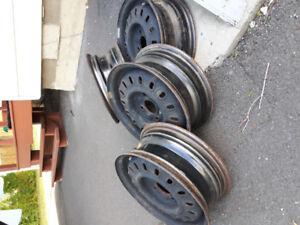 Jantes (4) pour Toyota Tercel 14 pouces