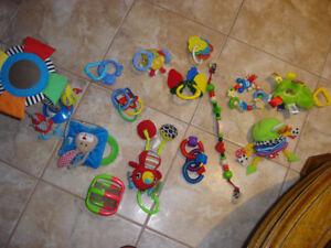 Bag of Infant toys