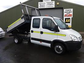 Iveco Daily Double cab tipper **ex Council only 68k miles**
