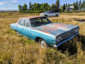 1969 Plymouth Satellite - Parts Car For A Road Runner