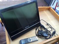 "16"" Digital LCD TV with Freeview HD ready"