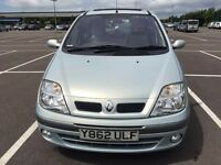 Renault Scenic privilege+ 16V excellent condition low millage 84K 1 year MOT