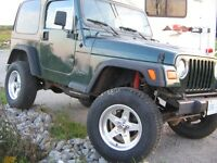 1999 Jeep TJ 4.0L SAHARA As Is OR Cert..SUV, Crossover