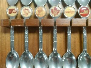 1979 Prism NHL Collector Spoons Prince George British Columbia image 3