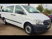 MERCEDES VITO 113 CDI TRAVELINER 9 seater MPV White Manual Diesel, 2013