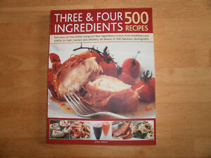 3 and 4 ingredients 500 recipes