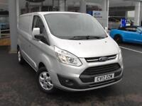 2017 Ford Transit Custom 290 SWB 2.0 Tdci Limited 130PS Diesel silver Manual