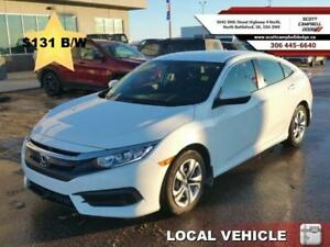 2017 Honda Civic Sedan LX  Like New Condition *$131 b/w*