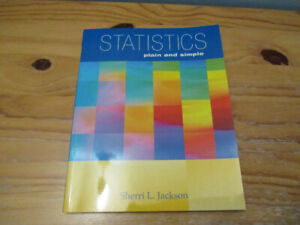 Statistics Plain and Simple by Sherri L. Jackson