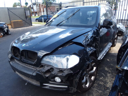 BMW X5 E53 E70 Wrecking Parts Engine Door Tailgate Nav V8 Diesel Revesby Bankstown Area Preview