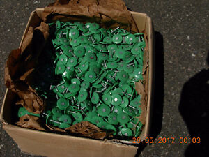 """Plasti-washer (1"""" ) roofing nails"""