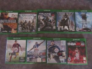 XBOX ONE Games $60.00 for all